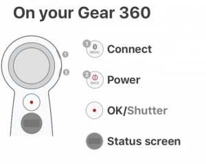 Kết nối Gear 360 với điện thoai ( Android/IOS)