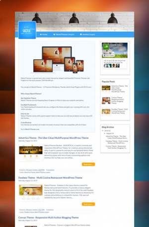 BeThemes Club Blogger Template [ blogspot themes ]