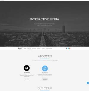 Bolt Blogger Template [ blogspot themes ]