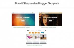 BrandX Blogger Template [UNCLEAR] [ blogspot themes ]