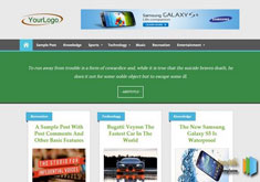 Clicker Blogger Template [ blogspot themes ]