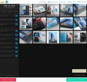DCM V2 Blue ResponsiveBlogger Template [ blogspot themes ]