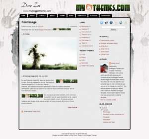 Dore Zot Blogger Template [ blogspot themes ]