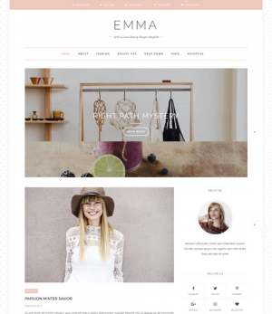 Emma Blogger Template [ blogspot themes ]