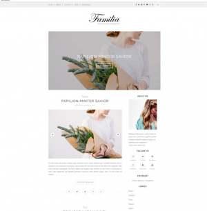 Familia Blogger Template [ blogspot themes ]