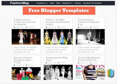FashionMag Blogger Template [ blogspot themes ]