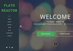 Flato Reactor Blogger Template [ blogspot themes ]
