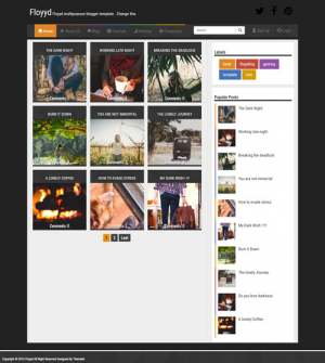 Floyyd Blogger Template [ blogspot themes ]
