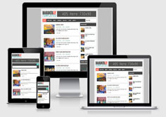 Harderly Responsive Blogger Template [ blogspot themes ]