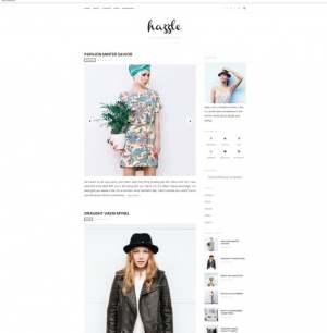 Hazzle Blogger Template [ blogspot themes ]