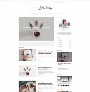 Hilary Blogger Template [ blogspot themes ]