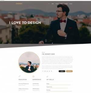 Isaac Landing Page Blogger Template [ blogspot themes ]