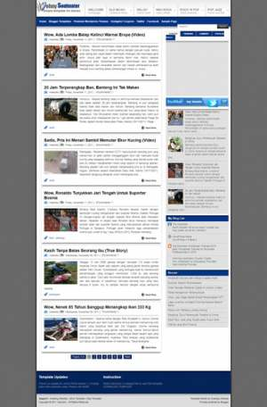 Johny Soulmater Blogger Template [ blogspot themes ]