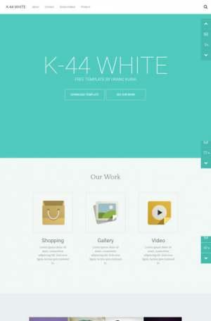 K44 White ResponsiveBlogger Template [ blogspot themes ]