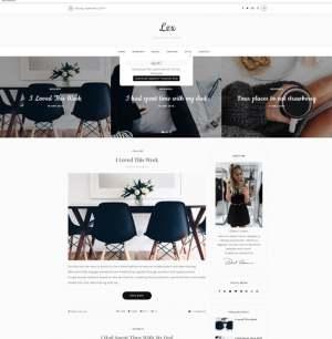 Lex Blogger Template [ blogspot themes ]