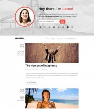 Loreo SEOBlogger Template [ blogspot themes ]