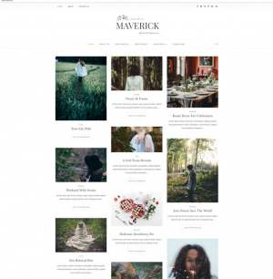 Maverick Blogger Template [ blogspot themes ]