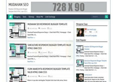 Mudahan SEO Responsive Blogger Template [ blogspot themes ]