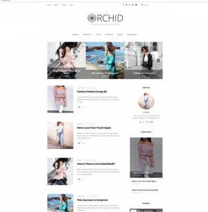 Orchid Fashion Blogger Template [ blogspot themes ]