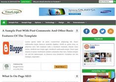 PakeezaBlogger Template [ blogspot themes ]