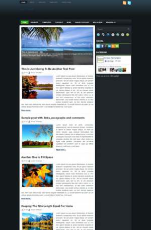 Papatya Blogger Template [ blogspot themes ]
