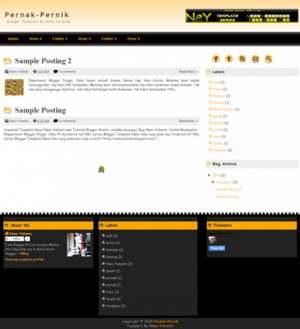 Pernak Pernik Blogger Template [ blogspot themes ]