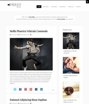 Persy Responsive Blogger Template [ blogspot themes ]