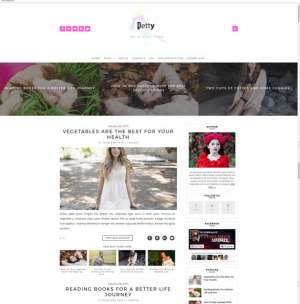 Petty Blogger Template [ blogspot themes ]