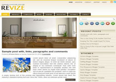 Revize Blogger Template [ blogspot themes ]