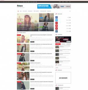 Robin Blog Blogger Template [ blogspot themes ]