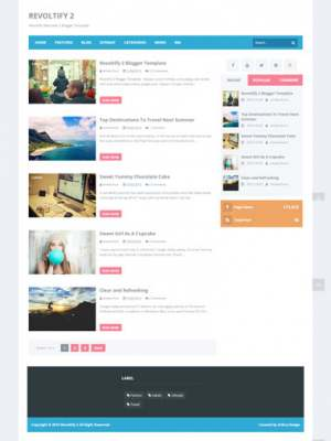 Sands of Time Dark Responsive Blogger Template [ blogspot themes ]