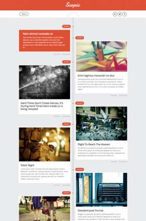 Scopic Responsive Blogger Template [ blogspot themes ]