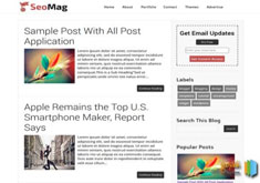 SeoMag ResponsiveBlogger Template [ blogspot themes ]