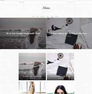 Shine Blogger Template [ blogspot themes ]
