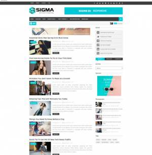 Sigma Blogger Template [ blogspot themes ]