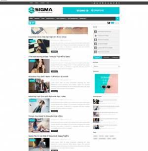 Sigma Blogger Template [ blogspot themes ]