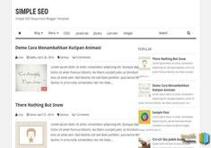 Simple SEO Blogger Template [ blogspot themes ]