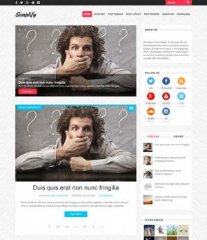 Simplify Blogger Template [ blogspot themes ]