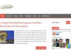 SimplitonaBlogger Template [ blogspot themes ]