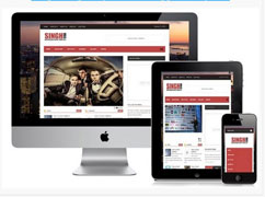 Singh Mag Responsive Blogger Template [ blogspot themes ]