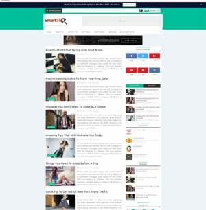 Smart Seo Blogger Template [ blogspot themes ]