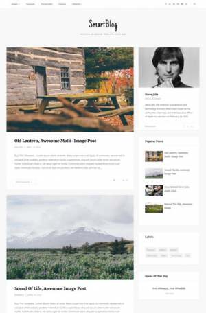 SmartBlog Blogger Template [ blogspot themes ]