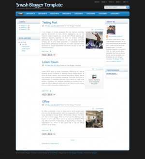 Smash Blogger Template [ blogspot themes ]