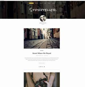 Storyteller Blogger Template [ blogspot themes ]