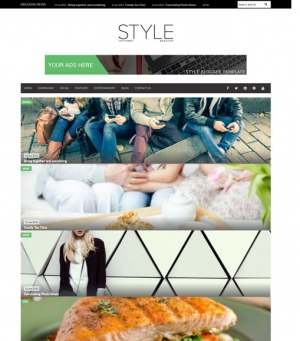 Style New Variant Blogger Template [ blogspot themes ]