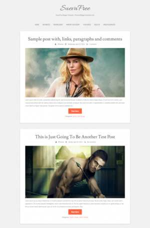 SuevaFree Blogger Template [ blogspot themes ]