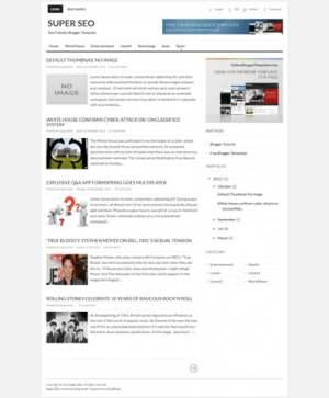 Super SEOBlogger Template [ blogspot themes ]