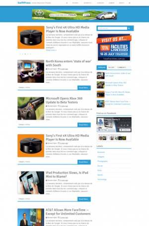 SwiftPress Blogger Template [ blogspot themes ]