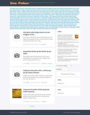 T Buku Blogger Template [ blogspot themes ]