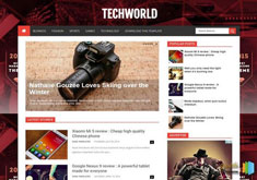 TechWorld Blogger Template [ blogspot themes ]